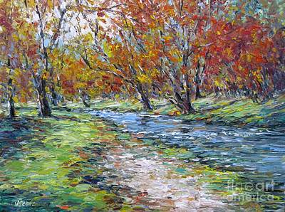Painting - Turner Falls Oklahoma by Vickie Fears