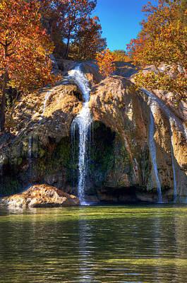Photograph - Turner Falls Park IIi by Ricky Barnard