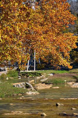 Photograph - Turner Falls Park Iv by Ricky Barnard