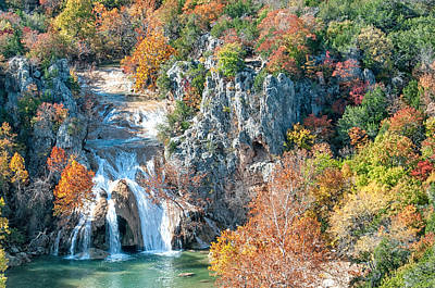 Photograph - Turner Falls by Victor Culpepper