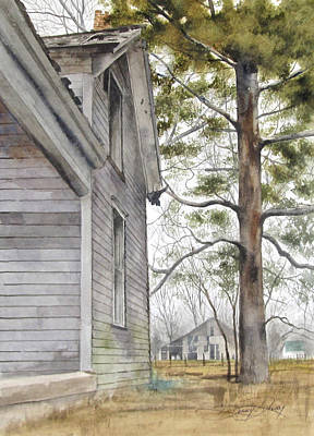 Turney House Art Print by Denny Dowdy