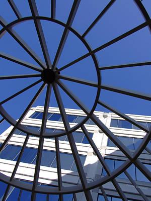 Wagon Wheels Photograph - Turning Skyward by Donna Blackhall