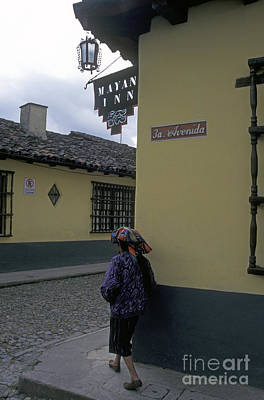 Photograph - Turning The Corner Chichicastenango Guatemala by John  Mitchell