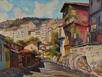 Nature Depiction Painting - Turnovo by Stefan Shikerov