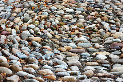 Photograph - Turns To Stones by Richard Ortolano