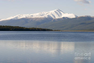 Steven Krull Royalty-Free and Rights-Managed Images - Turquois Lake by Steven Krull