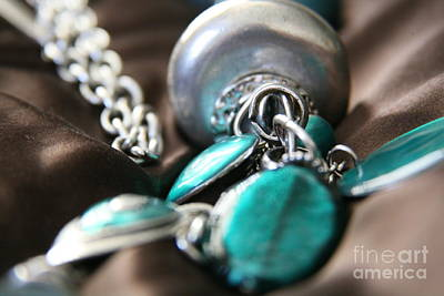 Photograph - Turquoise And Silver by Lynn England