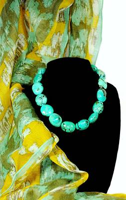 Photograph - Turquoise Fashion by Diana Angstadt