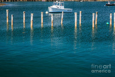 Photograph - Turquoise Harbor by Susan Cole Kelly