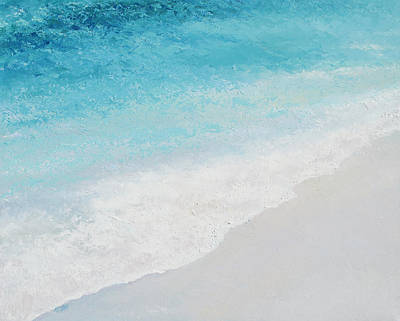 Painting - Turquoise Ocean 4 by Jan Matson