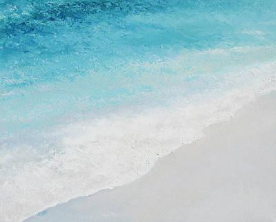 Turquoise Ocean 4 Art Print by Jan Matson