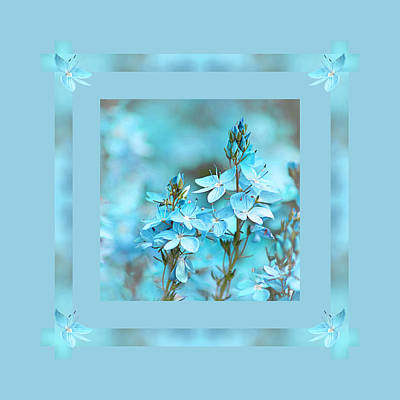 Photograph - Turquoise Ribbons by Gill Billington