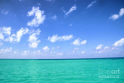Photograph - Turquoise Sea by Charline Xia