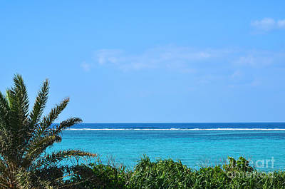 Photograph - Turquoise Water View by Kennerth and Birgitta Kullman