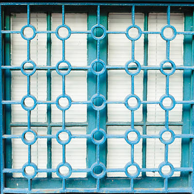 Photograph - Turquoise Window by Cara Moulds