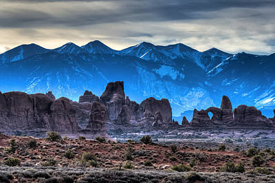 Photograph - Turret Arch And The La Sals by John McArthur