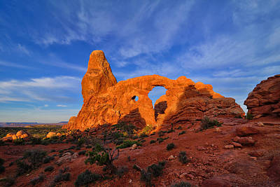 Photograph - Turret Arch Landscape by Greg Norrell