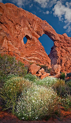 Photograph - Turret Arch by Susan Candelario