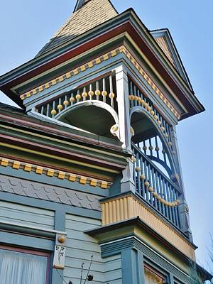 Photograph - Turret Details by VLee Watson