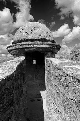 Photograph - Turret I In Bw by Mary Haber
