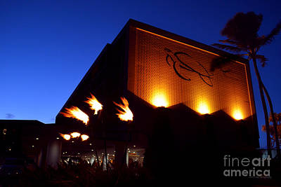 Art Print featuring the photograph Turtle Bay Resort After Sunset by Aloha Art