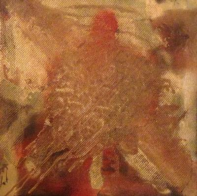Netting Mixed Media - Turtle by Jayne Allison