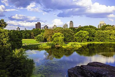 Vista Rock View 2  - Central Park - Manhattan Art Print