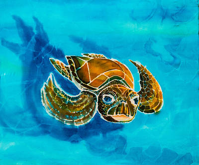 Painting - Turtle Soup by Kelly     ZumBerge