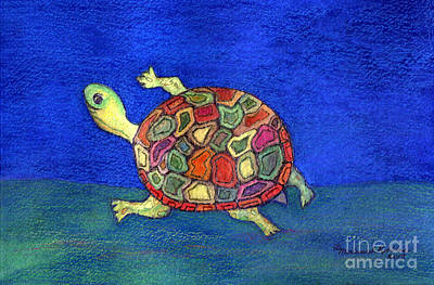 Painting - Turtle Trot by Marlene Robbins