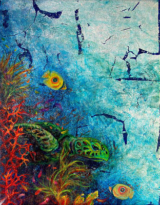 Turtle Wall 1 Original