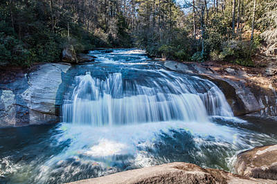 Photograph - Turtleback Falls by Randy Scherkenbach