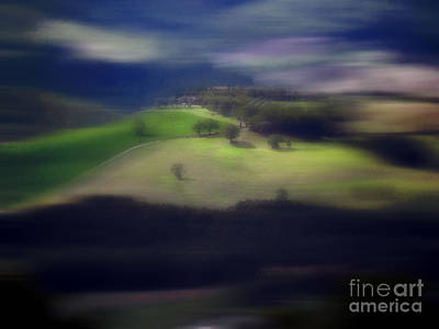 Photograph - Tuscan Abstract Landscape by Karen Lewis
