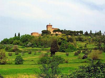 Tuscan Countryside Art Print by Ellen Henneke