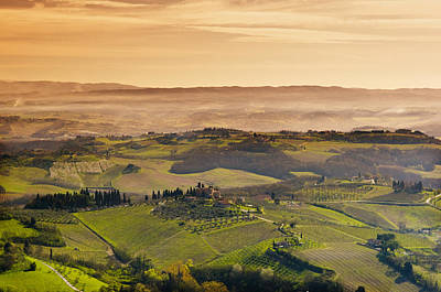 Photograph - Tuscan Countryside by Mick House