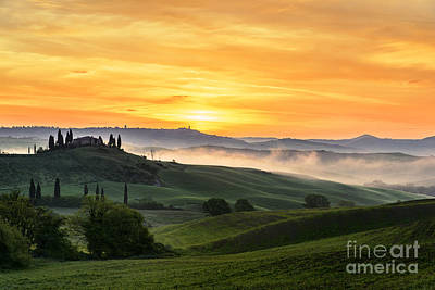 Tuscan Countryside Art Print