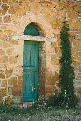 Tuscan Door Art Print by Clint Brewer