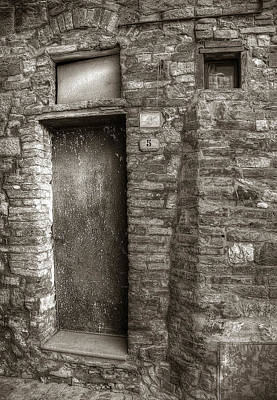 Photograph - Tuscan Doorway by Michael Kirk