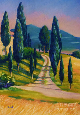 Florence Painting - Tuscan Glow by John Clark