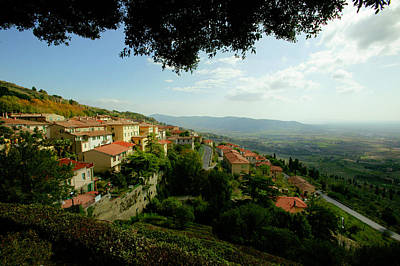 Photograph - Tuscan Hillside by John Galbo