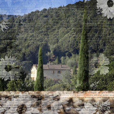 Photograph - Tuscan Home by Alex Rowbotham