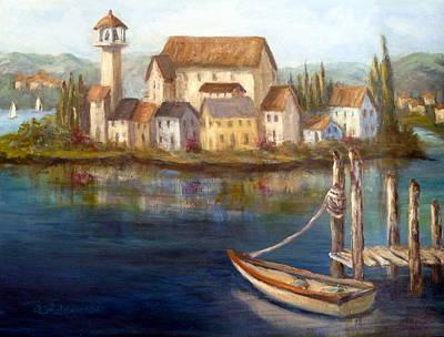 Tuscan Italian Paintings Art Print