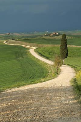 Tuscan Landscape Before The Storm. Art Print by Jaroslav Frank