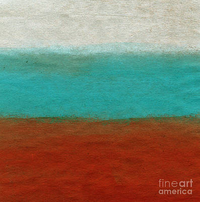 Abstract Landscape Painting - Tuscan by Linda Woods