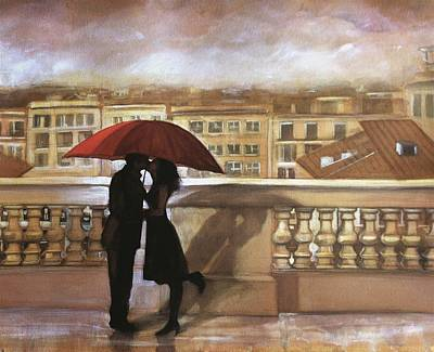 Painting - Tuscan Love by Gregory DeGroat