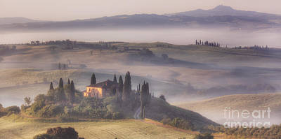 Photograph - Tuscan Morning by Michele Steffey