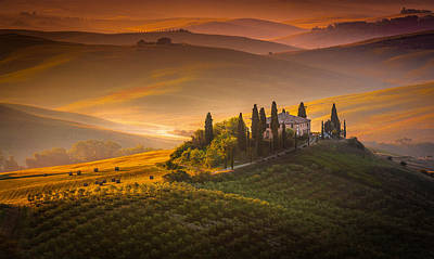 Photograph - Tuscan Morning by Stefano Termanini