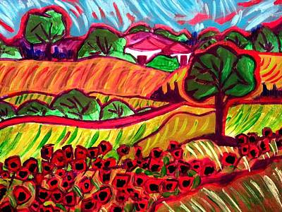 Painting - Tuscan Red by Nikki Dalton