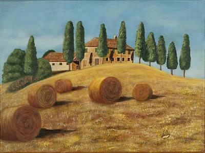 Tuscan Hills Painting - Tuscan Sunshine by Fernando Barozza