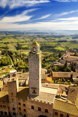 Photograph - Tuscan Tower by Mick House