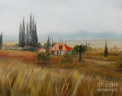 Painting - Tuscan View by Marlene Book